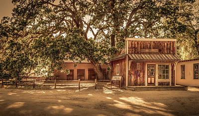 Photograph - Wild West Barber Shop by Gene Parks