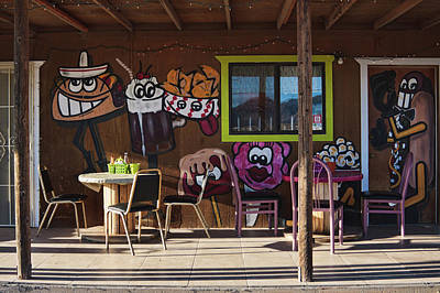 Photograph - Wild West Dining by Tatiana Travelways