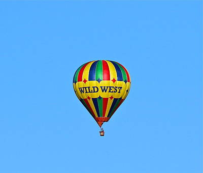 Photograph - Wild West Hot Air Balloon by Denise Mazzocco