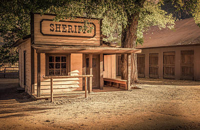 Photograph - Wild West Jail by Gene Parks