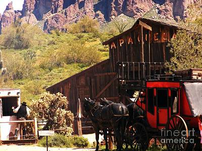 Gunslingers Photograph - Wild West by Marilyn Smith