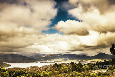 Forecast Photograph - Wild West Of Tasmania by Jorgo Photography - Wall Art Gallery