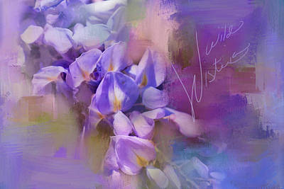 Photograph - Wild Wisteria by Jai Johnson