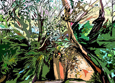 Wild Wood Original by Mindy Newman