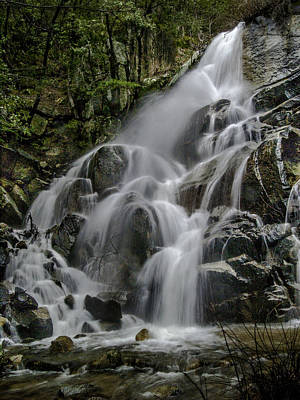 Wildcat Falls In Color Art Print by Bill Gallagher