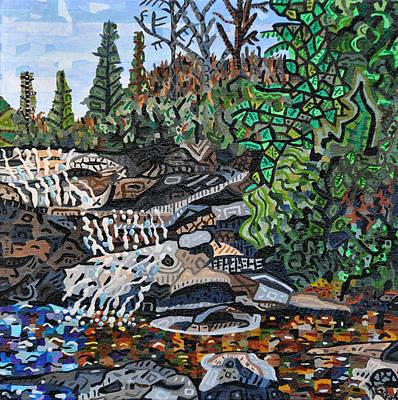 Wildcats Painting - Wildcat Falls by Micah Mullen