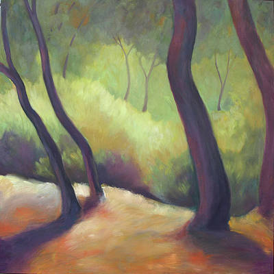 Painting - Wildcat Woods by Linda Ruiz-Lozito