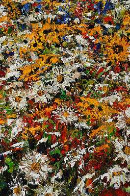 Wildchild Flowers Close-up Art Print by Robert James Hacunda