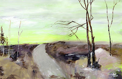 Painting - Wilderness 2 by Anil Nene
