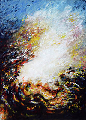 Painting - Wilderness - Abstract 1 by Harsh Malik