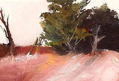 Painting - Wilderness Brushy Landscape by Michele Carter