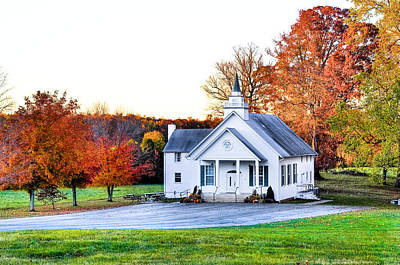 Photograph - Wilderness Church by Scott Hansen
