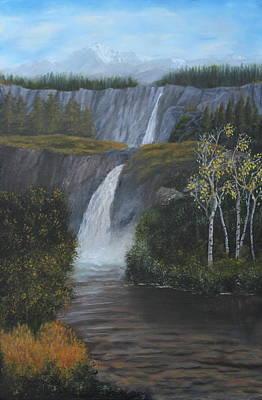 Wilderness Falls Original by Lou Magoncia