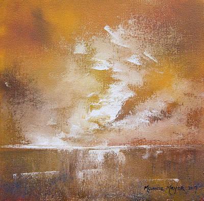 Bright Painting - Wilderness Falls  by Melanie Meyer