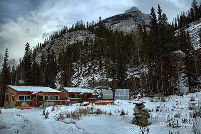 Photograph - Wilderness Hostel In The Mountains by Adam Jewell