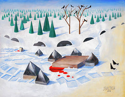 Painting - Wilderness Perception by Joe Baltich