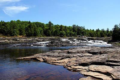 Photograph - Wilderness Waterfalls by Debbie Oppermann