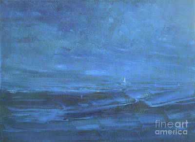 Painting - Wildest Dream - Voyage by Jane See