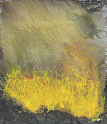 Painting - Wildfire by Antonio Romero