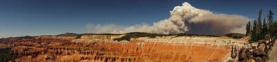 Wildfire Cedar Breaks National Monument Utah Art Print