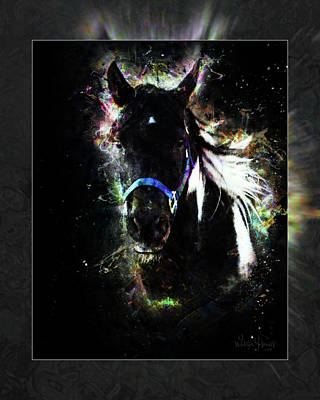 Digital Art - Wildfire Horse Of Dreams 1a by Walter Herrit