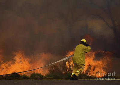 Photograph - Wildfire, It's What We Do by Janice Rae Pariza