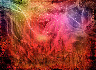 Digital Art - Wildfire by Linda Carruth