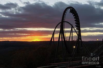 Photograph - Wildfire Sunset by Jennifer White