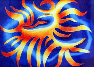 Wildfire Art Print by Tina Storey