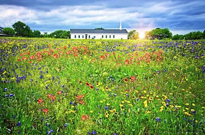 Photograph - Wildflower Chapel by Lynn Bauer