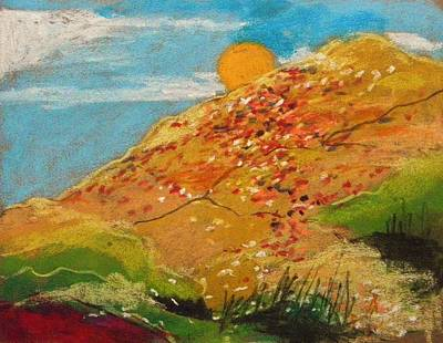 Painting - Wildflower Hillside by John Williams