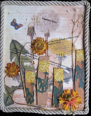 Mixed Media - Wildflower Honey by Sandy McIntire