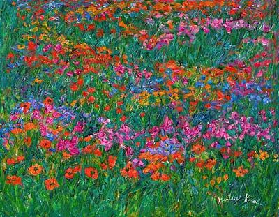 Painting - Wildflower Magic by Kendall Kessler