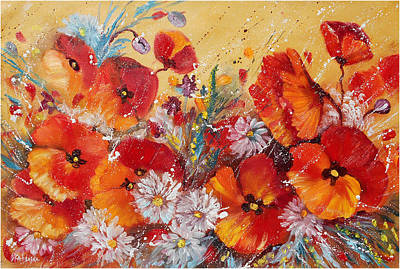 Painting - Wildflower Meadows by Ekaterina Chernova