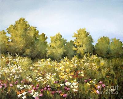 Painting - Wildflower Meadows by Inese Poga