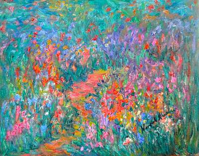 Painting - Wildflower Mist  by Kendall Kessler