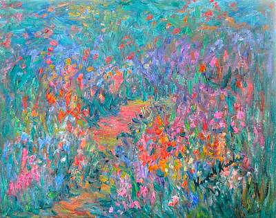 Painting - Wildflower Mist Stage Two by Kendall Kessler