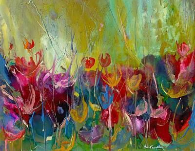 Wall Art - Painting - Wildflower Party by Alexis Bonavitacola