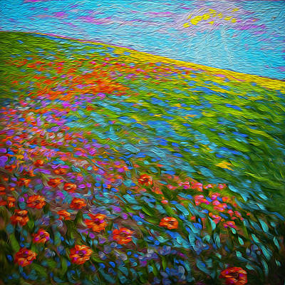 Wildflower Pastoral Art Print