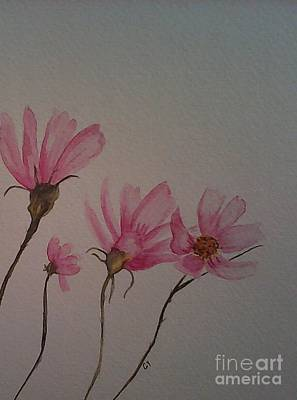 Painting - Wildflower Pink by Ginny Youngblood