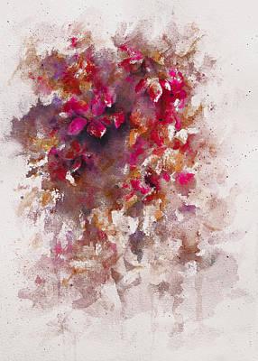 Mystical Landscape Painting - Wildflower by Rachel Christine Nowicki