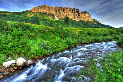 Fort Collins Photograph - Wildflower River by Scott Mahon