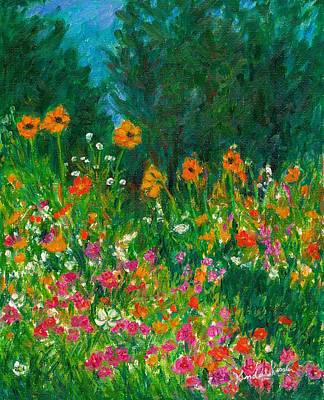 Wildflower Rush Original by Kendall Kessler