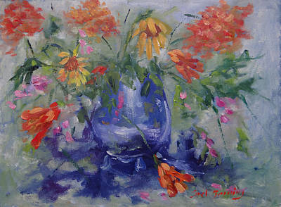 Painting - Wildflower Serenade by Carol Berning