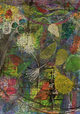Mixed Media - Wildflower Two by Paper Jewels By Julia Malakoff