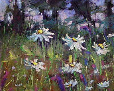 Painting - Wildflower Walk by Karen Margulis
