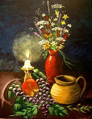 Wildflowers Original by Bobbie Roberts