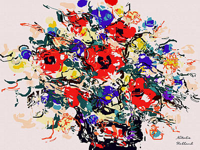 Painting - Wildflowers Bouquet by Natalie Holland