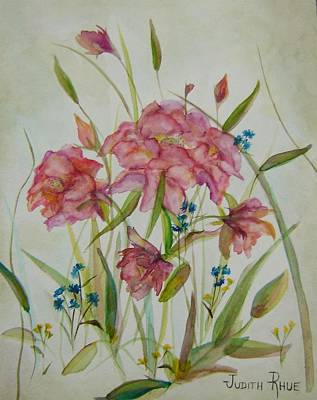 Painting - Wildflowers by Judith Rhue
