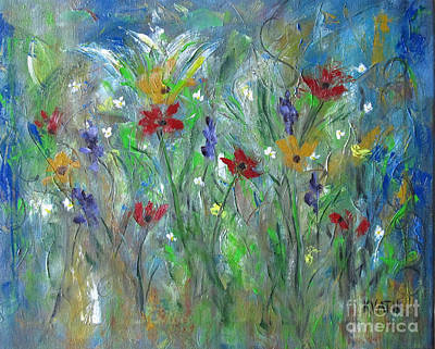 Painting - Wildflowers by Karen Day-Vath